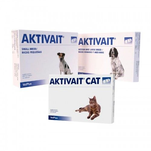 Vetplus Aktivait gatos 60 capsulas