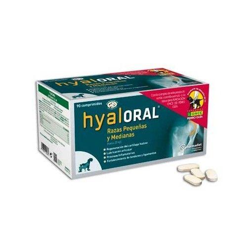 Farmadiet Hyaloral razas pequeñas y medianas 90 comprimidos