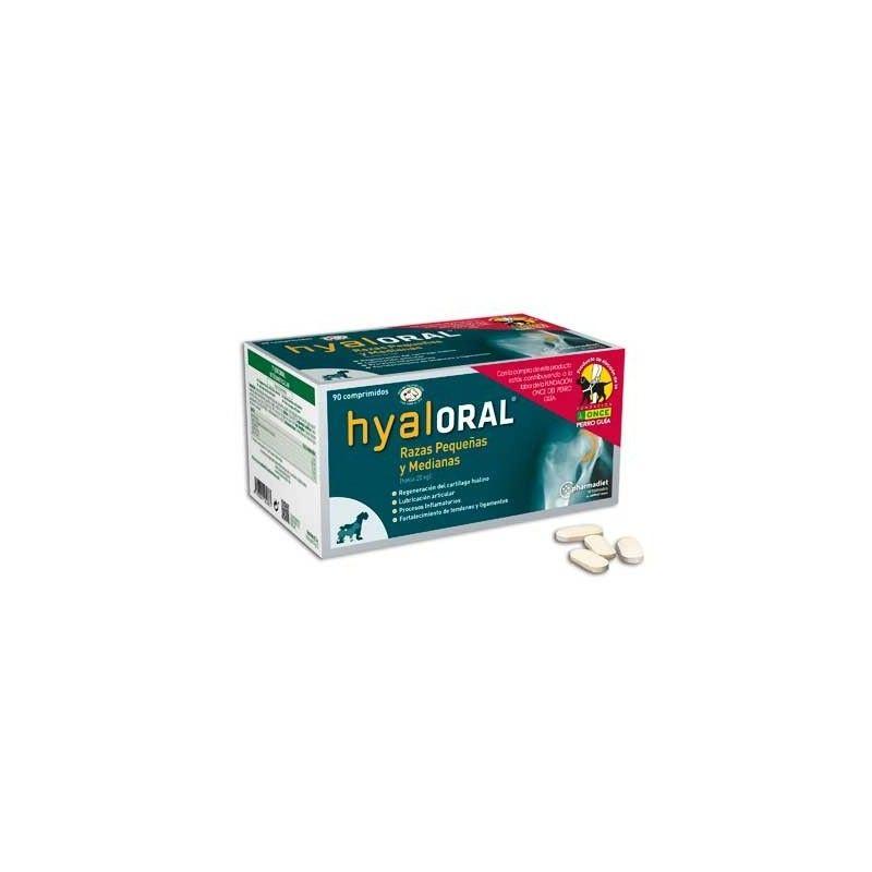 Hyaloral razas pequeñas y medianas 90 comprimidos