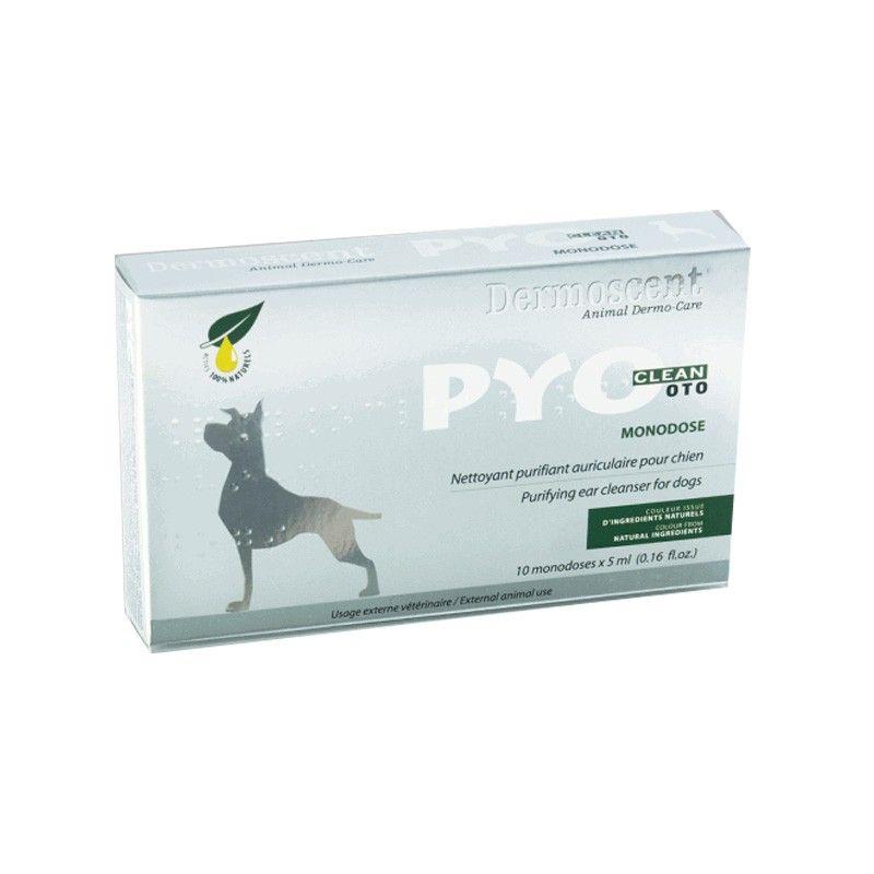 Merial Dermoscent Pyoclean Oto Limpiador Ótico 10x5ml Perro y Gato.
