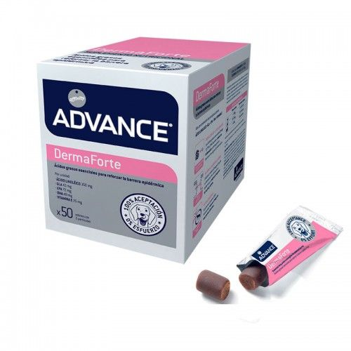 Advance suplemento dermaforte 100 dosis.