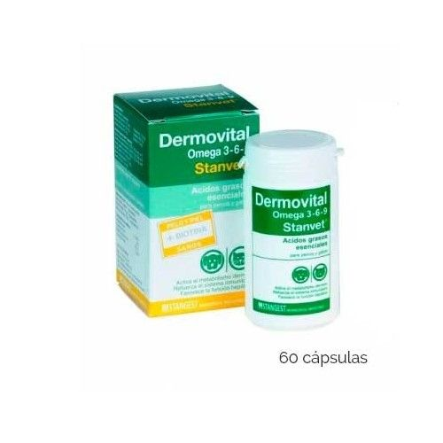 Stangest Dermovital omega 3-6-9 60 Cápsulas (Bote)
