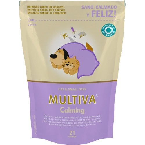 Vetnova Multiva calming gatos 21 chews