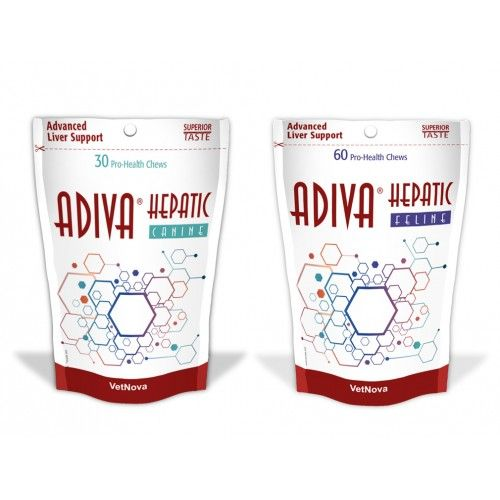 Adiva Hepatic Canine 30 chews