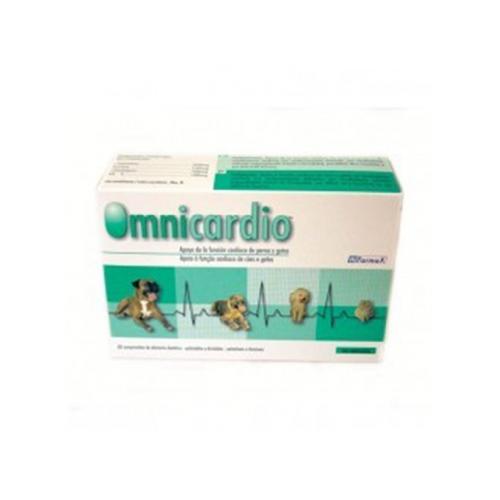 Hifarmax omnicardio perros y gatos 60 comprimidos