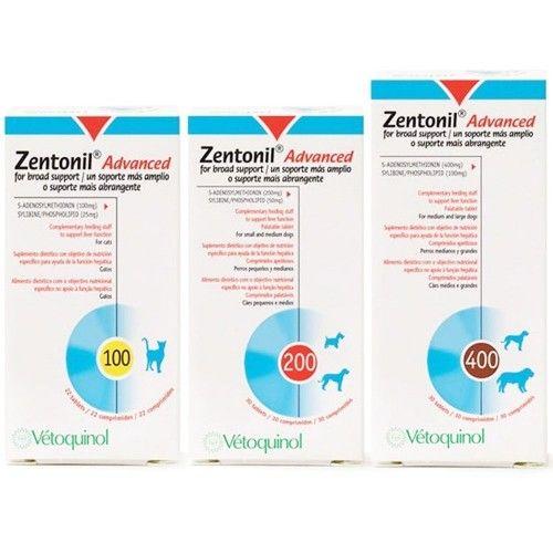 Zentonil advanced 100 mg 30 comprimidos