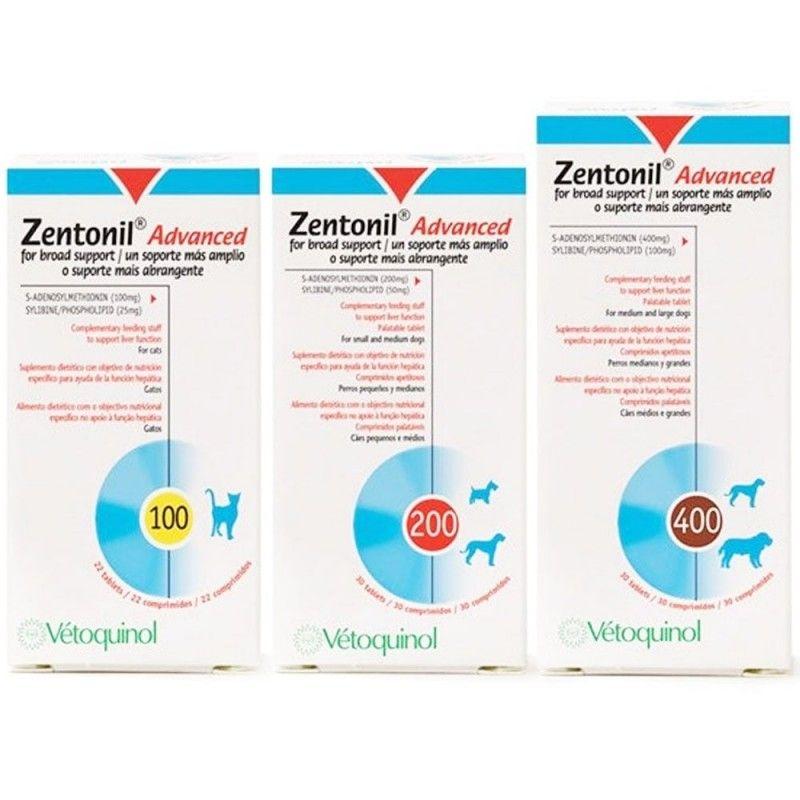 Vetoquinol Zentonil advanced 100 mg 30 comprimidos