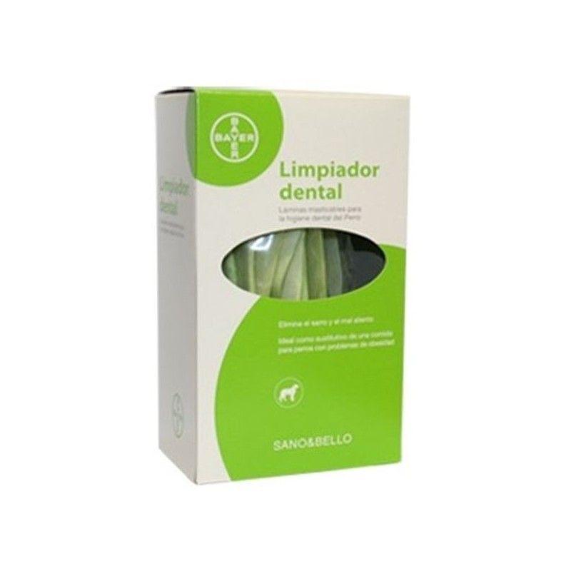 Bayer Sano y bello limpiador dental para perros y gatos 140 gr.
