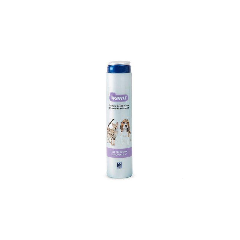 Calier Kawu champu desodor uso frec 5l
