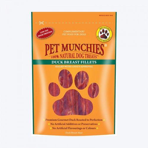 Pet Munchies Filetes Pechuga Pato
