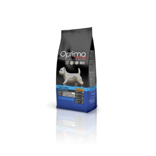 Optima nova puppy mini chicken & rice 2 Kg