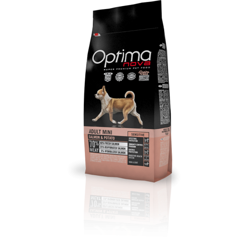Optima Nova Grain Free Adult Mini Sensitive Salmon & Potato