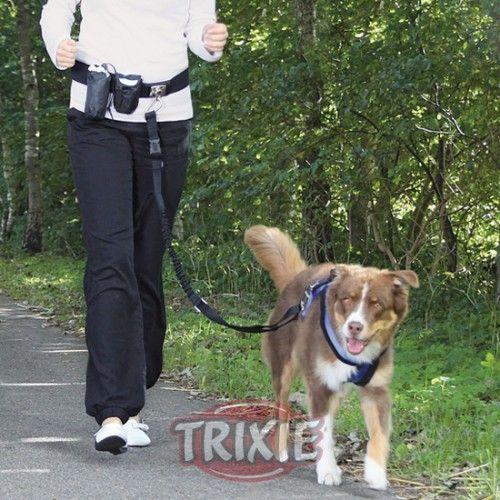 Trixie Cinturón Canicross, Manos libres,1-1.35 m,Máx:40kg