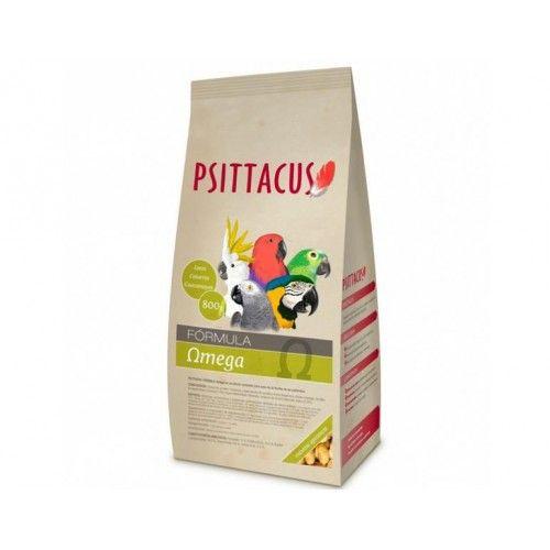 Psittacus Fórmula Omega Para Psitácidos 800g