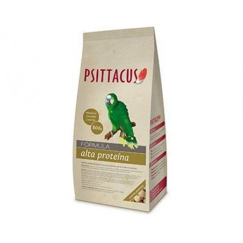 Psittacus Pienso Fórmula Alta Proteína 800g