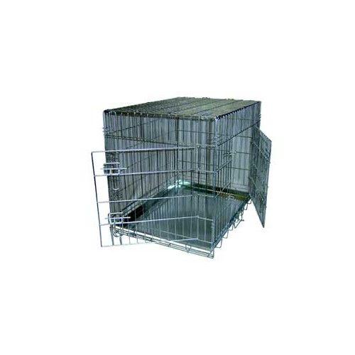 JAULA PLEGABLE RIBECAN SUPER GRANDE XL 106 x 68 x 77 cm