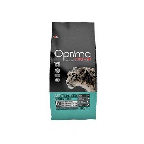 Optima Nova Cat Sterilized 8 Kg