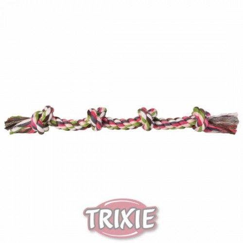 Trixie cuerda de juego multicolor 37 cm