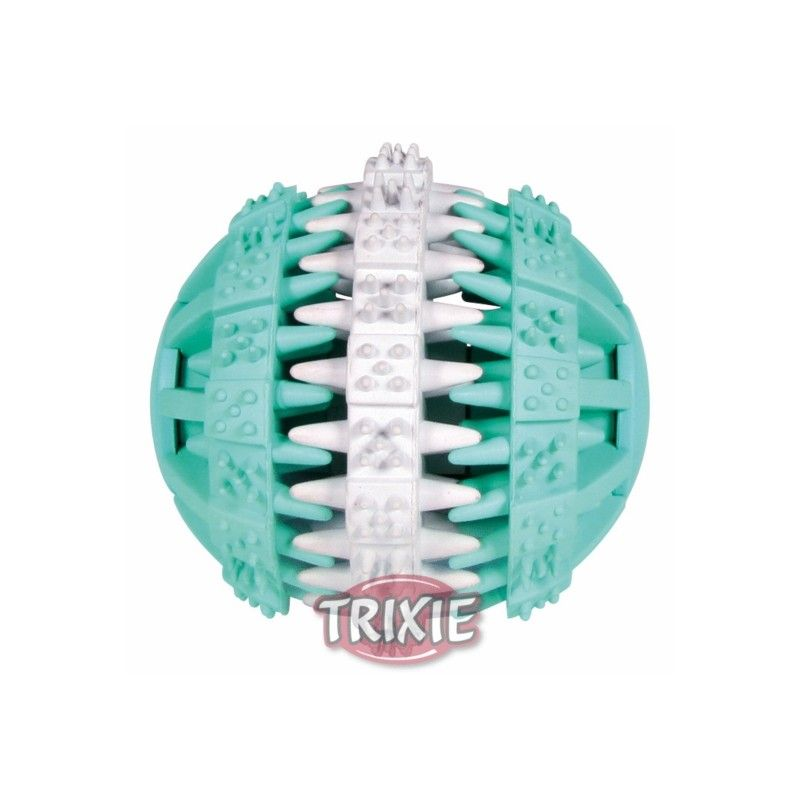 Trixie dentafun pelota menta caucho natural 7 cm