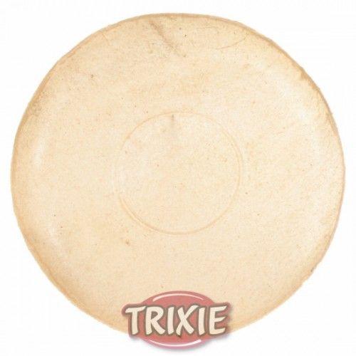 Trixie plato perro piel natural 100% 15 cm