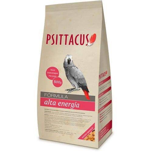 Psittacus Pienso Fórmula Alta Energía para Aves 800 Gr