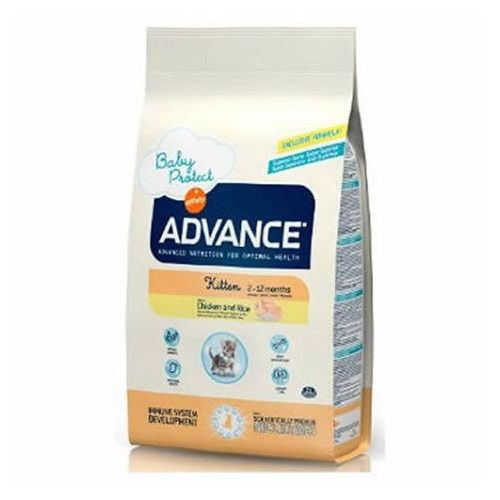 Advance cat kitten chicken & rice 1,5 Kg