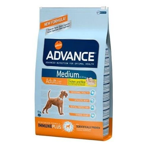 Advance medium adult pollo y arroz 18 kg