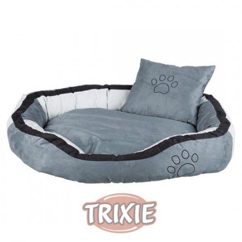 Trixie Cama Bonzo, 60 × 50 cm, Gris-Negro