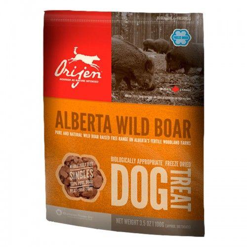 Orijen Wild Boar Snack dog treats 57 Gr