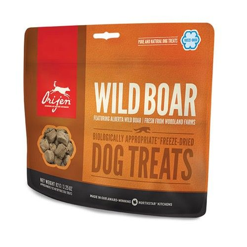 Orijen Wild Boar Snack dog treats 57 Gr