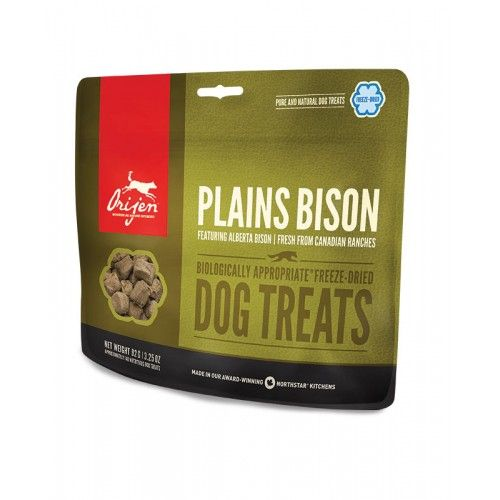 Orijen Treats Plains Bison Dog 42,5 Gr