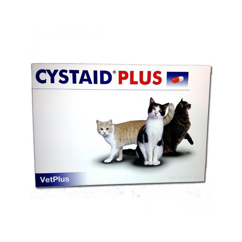 Vetplus Cystaid Plus para gatos 240 capsulas