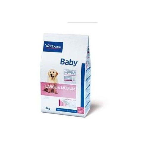 Virbac HPM Baby Large & Medium 12 kg