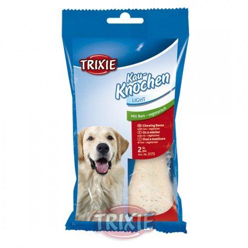 Trixie 2 Huesos prensados Arroz, Vegetariano, 125 g