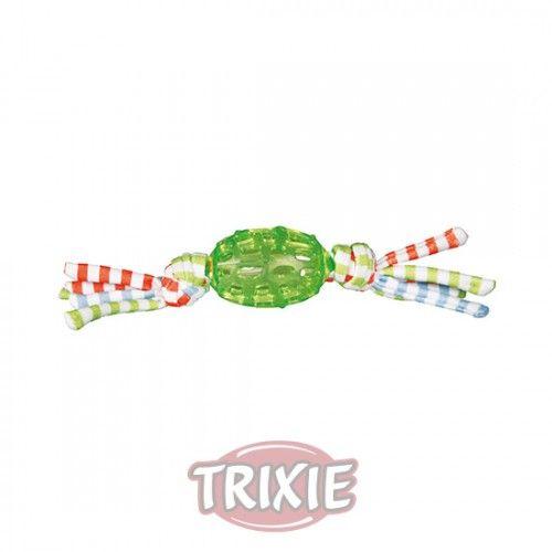 Trixie Pelota de Rugby con Borlas, 8 cm, 28 cm