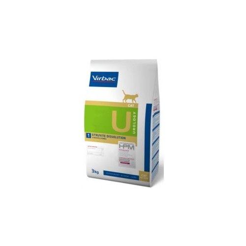 Virbac HPM Dieta para gatos U1-cat urology 3 Kg