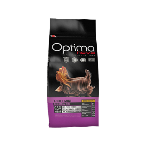 Optima nova adult mini chicken & rice 12 Kg