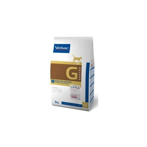 Virbac HPM Dieta para gatos G1-cat digestive 3 Kg