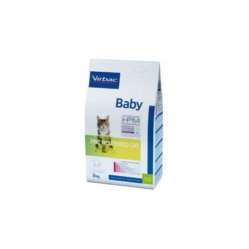 Virbac HPM pienso Baby Pre Neutered Cat 3 Kg