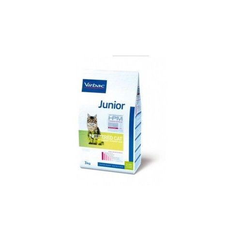 Virbac HPM pienso Junior Neutered Cat 1,5 Kg