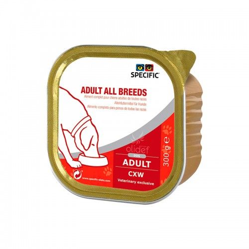 Specific Canine CXW Adult All Breeds 6 X 300gr