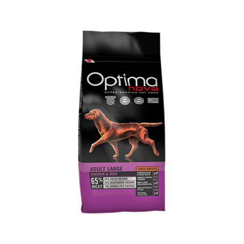 Optima nova adult large chicken & rice 12 Kg