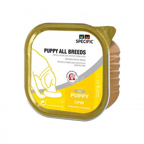 Specific Canine CPW Puppy All Breeds 6 X 300gr