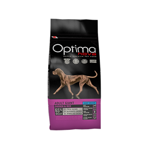 Optima nova adult giant chicken & rice 12 Kg