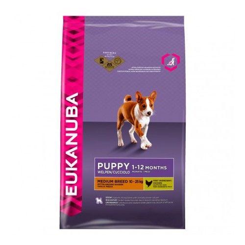 Eukanuba Puppy Medium Breed 12 Kg