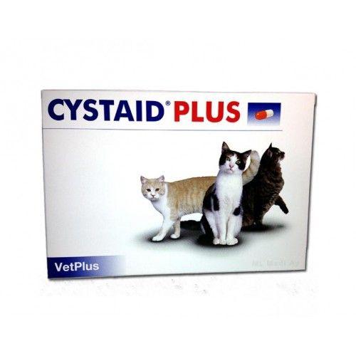 Cystaid plus gatos 30 cápsulas