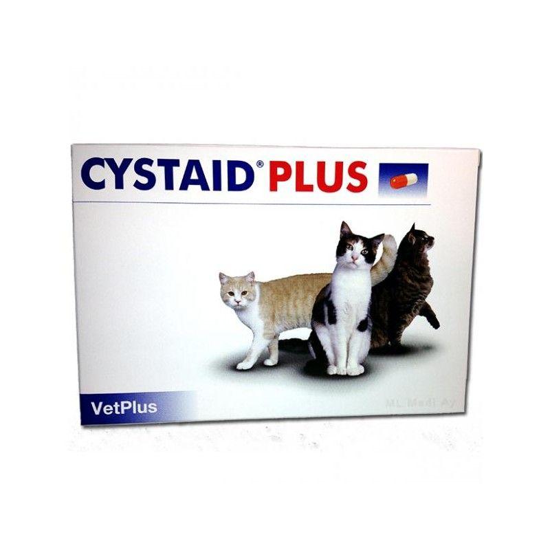 Vetplus Cystaid Plus para gatos 30 capsulas