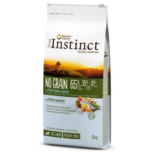 True Instinct pienso para cachorros No Grain salmón 12 Kg