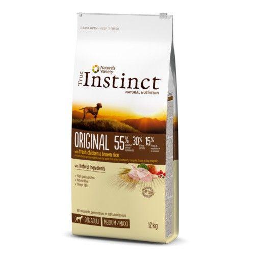 True Instinct pienso para perros adultos Original con pollo 12 Kg