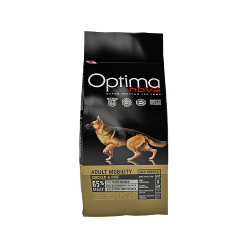 Optima nova adult mobility chicken & rice 12 Kg